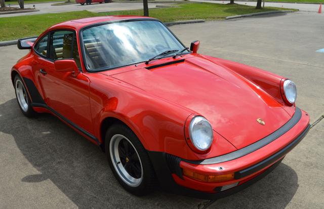 1987 Porsche 930 Turbo Guards Red / Champagne