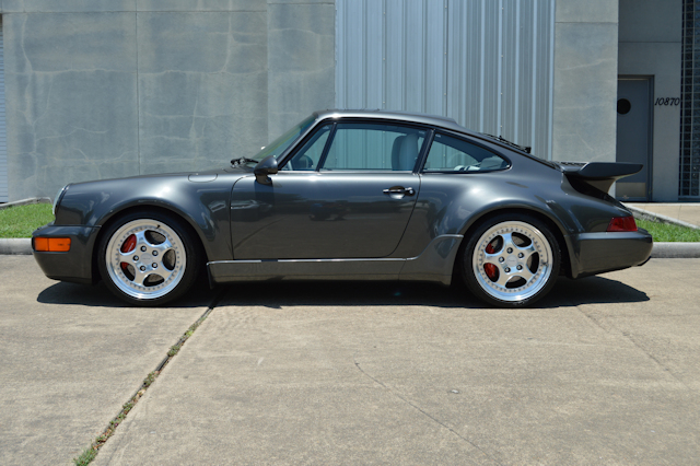 1994 Porsche 911 3.6 Turbo Slate grey / Light grey