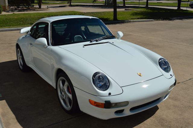 1996 Porsche 993 Turbo Grand Prix White / Black
