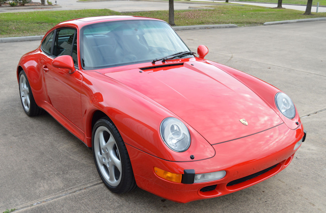 1998 Porsche 993 C2S Guards Red / Black
