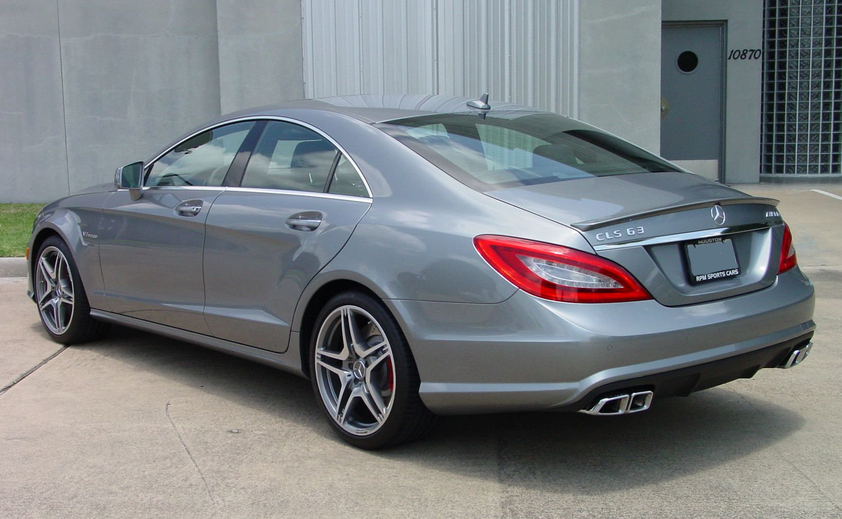 2012 mercedes benz cls63 for Mercedes benz silver